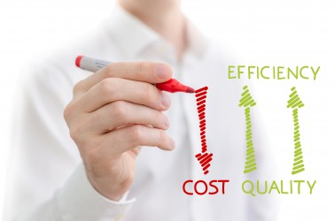 bigstock-Quality-efficiency-and-cost-45457141